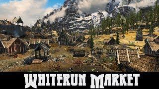 SKYRIM MOD QUICKIE 47 - Whiterun market