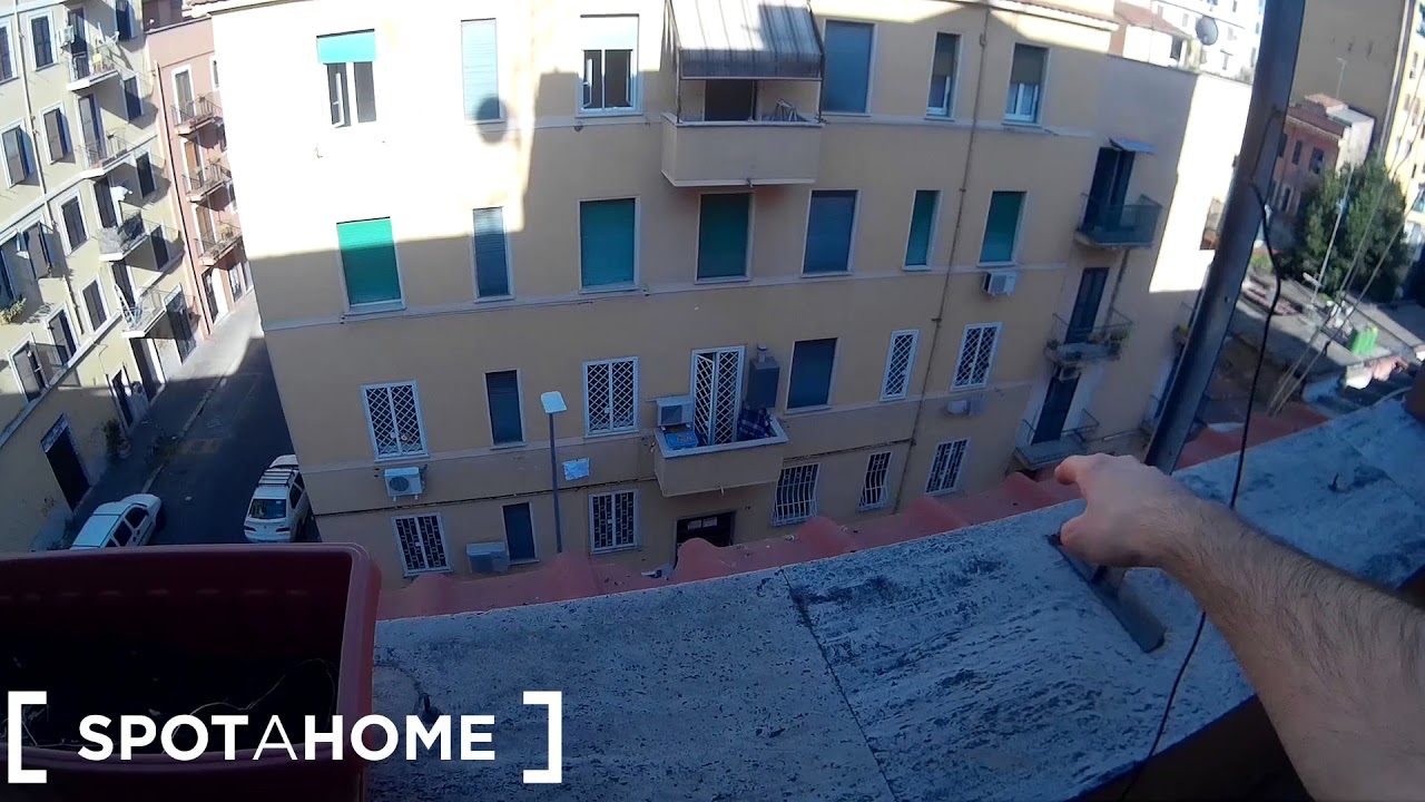 1-bedroom apartment with balcony for rent in Pigneto