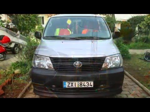 toyota hiace 2 5 d4d '09 – The Pin Project