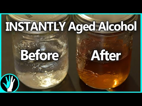 Just learned about the possibility of aging alcohol rapidly with an ultrasonic cleaner.