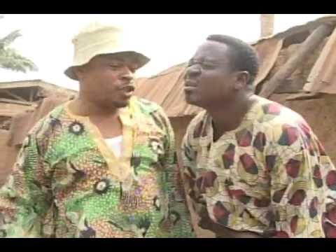 Mr Ibu(John Okafor) & Victor Osuagwu afraid of Osuofia(Nkem Owoh)...(ofor na ogu1 7)