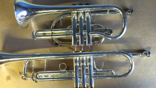 Trumpet vs Cornet - discussion and demonstration