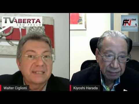 Kiyoshi Harada em Resumo na TV Aberta de São Paulo com Walter Ciglioni