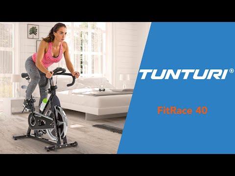 Promovideo: Cyklotrenažér TUNTURI Fitrace 40 HR