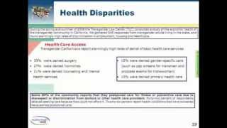 preview picture of video 'Transgender Health Webinar (Part 7 of 10)'