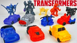 Transformers Tiny Turbo Changers Series 4 Bumblebee Movie Edition Toys