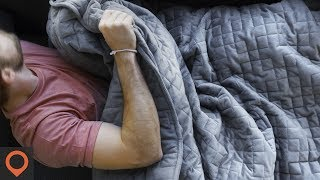 Gravity Blanket: Engineered To Reduce Stress And Anxiety