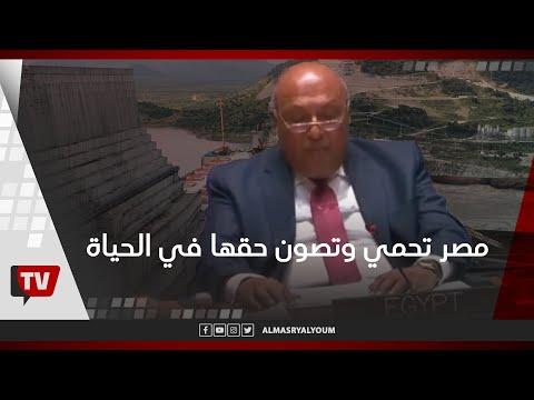 رد تاريخي على إثيوبيا.. كلمة وزير الخارجية سامح شكري في مجلس الأمن