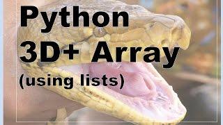 202-Python - 3D Array Example