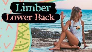 15 min Yoga for Lower Back Pain - Limber Lower Back