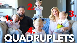 We Survived With Infertility, And Now We Have Quadruplets