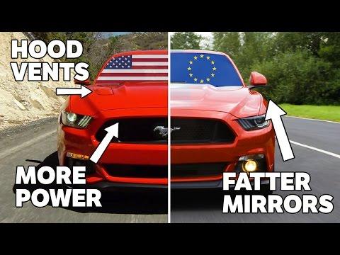 10 điểm khác biệt giữa Ford Mustang của Mỹ và châu Âu