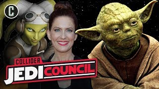 Yoda in Episode IX? Vanessa Marshall Joins the Council - Jedi Council - Video Youtube