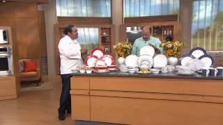 Emeril 20-pc Stoneware Dinnerware Set Service For 4 By Gorham With Dan Wheeler