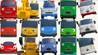 Learn Colors with Tayo English Episodes l Cartoon for Kids l Tayo the Little Bus