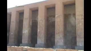 preview picture of video 'TEMPLE OF ABYDOS - PART 1 OF 2 - DESCRIPTION OF THE TEMPLE'
