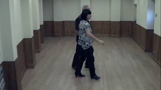 WALKIN' THE FLOOR  ( Western Partner Dance )