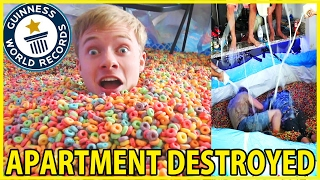 WORLD'S LARGEST BOWL OF CEREAL!! (World Record)