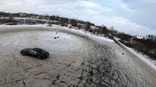 Chasing drifting cars FPV