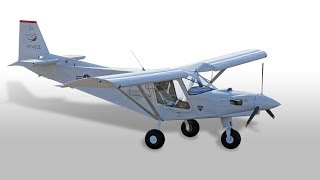Amazing turbine STOL homebuilt airplane