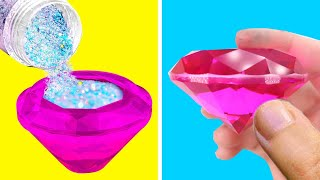 Trying SIMPLE CRAFT IDEAS YOU CANT PASS AT HOME BY 5 MINUTE CRAFTS