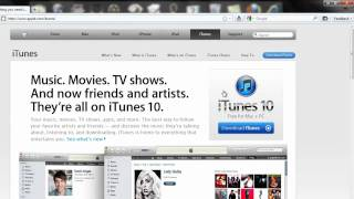 How to get Itunes 10 for 32 bit and 64 bit.
