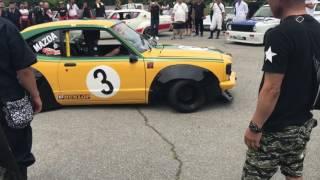 富士河口湖オートジャンボリー2017 4輪 旧車 街道レーサー Libertywork