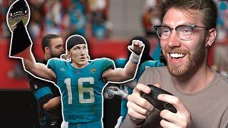 I won Trevor Lawrence his first Super Bowl...