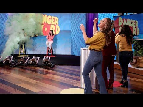 , title : 'Ellen Celebrates 'Game of Games' Season 4 with 'Danger Word'!'