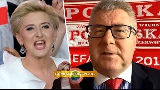 MÓJ SUBSKRYBOWANY KANAŁ – Ryszard Czarnecki BRONI Agaty Dudy: DAJCIE JEJ SPOKÓJ!