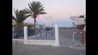 preview picture of video 'Mahdia Tunisie été 2012 .Visiter tout le port sur moto'