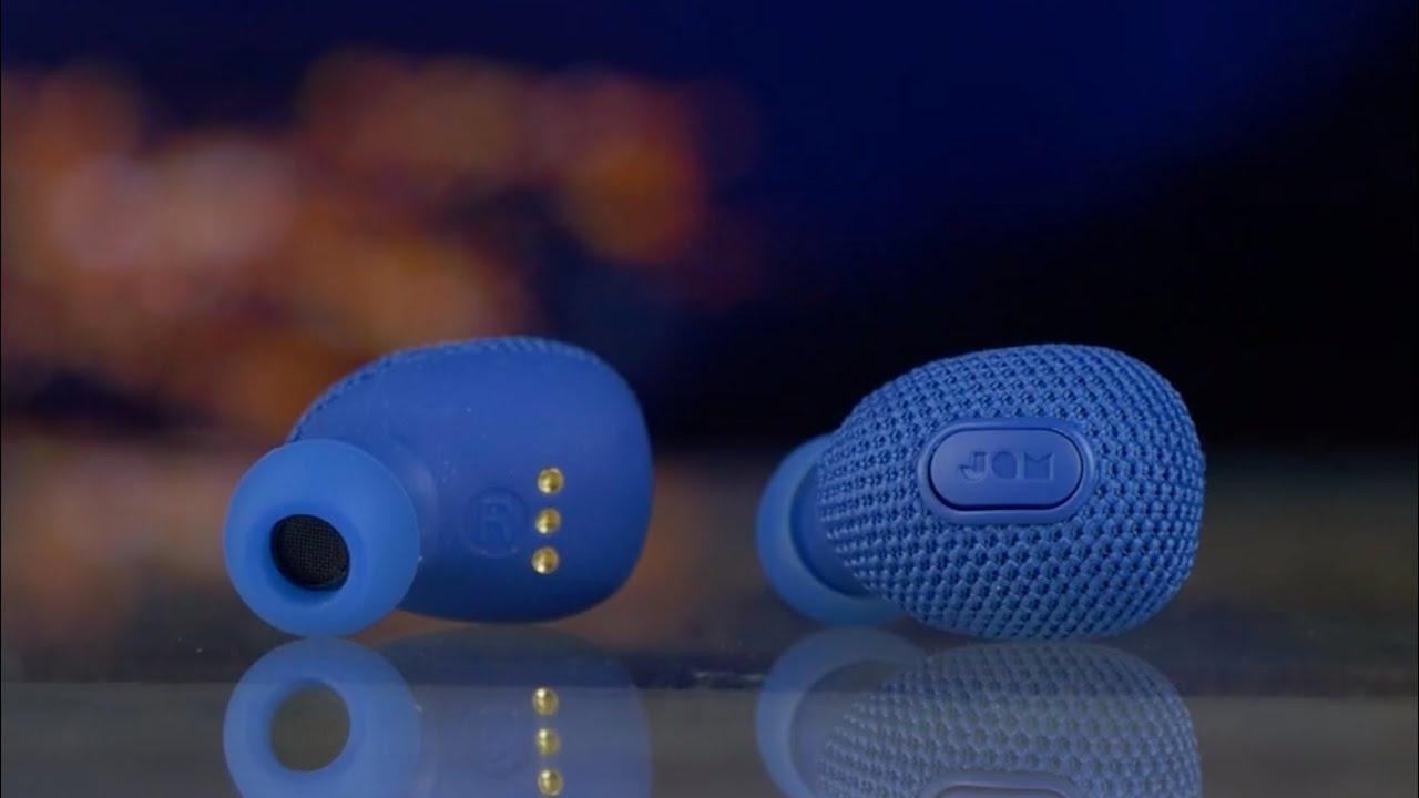 Беспроводные наушники JAM Live True (Blue) HX-EP900BL video preview