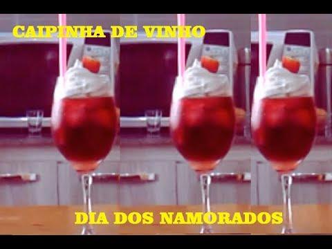 como fazer CAIPIRINHA DE VINHO - Dia dos Namorados | Preto na Cozinha/drink com vinho/carnaval