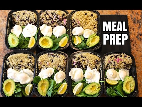 Video How to Meal Prep - Ep. 3 - VEGETARIAN (7 Meals/$3.50 Each)