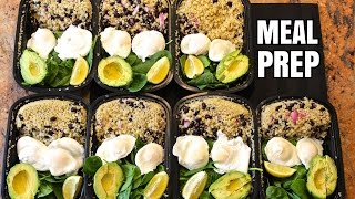 How to Meal Prep - Ep. 3 - VEGETARIAN (7 Meals/$3.50 Each)