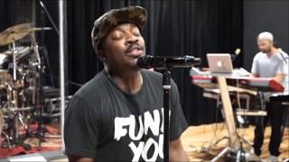 """Anthony Hamilton - Rehearsing """"I'm a Mess"""""""