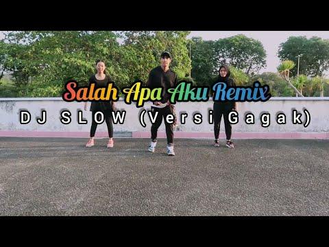 DJ SLOW SALAH APA AKU REMIX 2019 (VERSI GAGAK) JOGET | DANGDUT | ZUMBA | FITNESS | TIKTOK | At Bppn