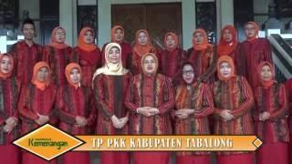 Selaamt Idul Fitri TP PKK Kabupaten Tabalong