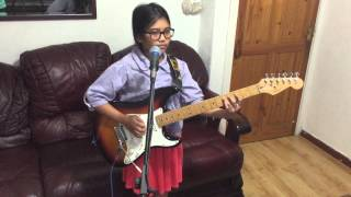 10 year old Krizten Centino cover of Black Dog - Led Zeppelin
