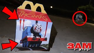 DO NOT ORDER THOMAS THE TANK ENGINE HAPPY MEAL AT 3AM!! *OMG HE ACTUALLY CAME TO MY HOUSE*