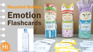 EDUCATIONAL CRAFTS FOR PRESCHOOLERS (DIY Emotion Card Holders!)