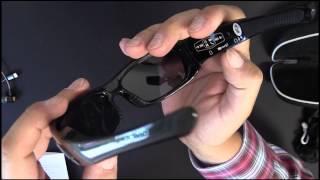 Forestfish Kamerabrille - Spionagekamera - Bluetooth Headset
