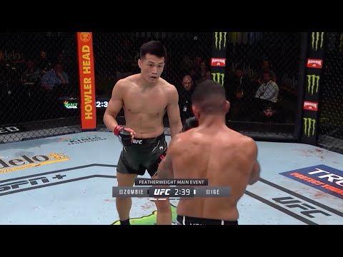 UFC Vegas 29: Korean Zombie vs. Ige – highlights