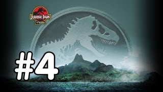 Jurassic Park: The Game Walkthrough - Part 4 - DINO BATTLE!! (Xbox 360/PS3/PC/Mac Gameplay) [HD]
