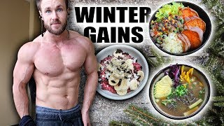 WHAT I EAT WINTER BULK | JUST THE FOOD