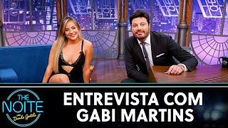 Entrevista com Gabi Martins | The Noite (03/07/20)