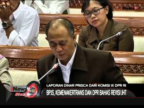 Live Report: Komisi 9 Panggil BPJS Ketenaga Kerjaan, Terkait JHT - iNews Siang 06/07