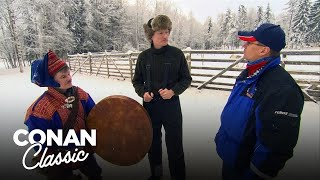 Conan Visits Finland's Northernmost Region | Late Night with Conan O'Brien