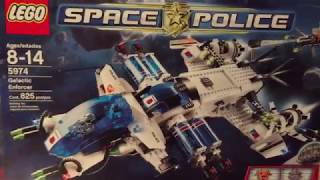 Lego Space Police Galactic Enforcer 5974 Review (обзор)
