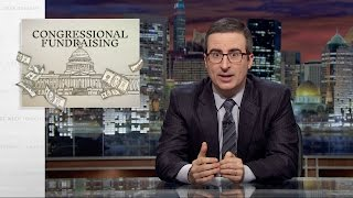 John Oliver Discusses Political Fundraising